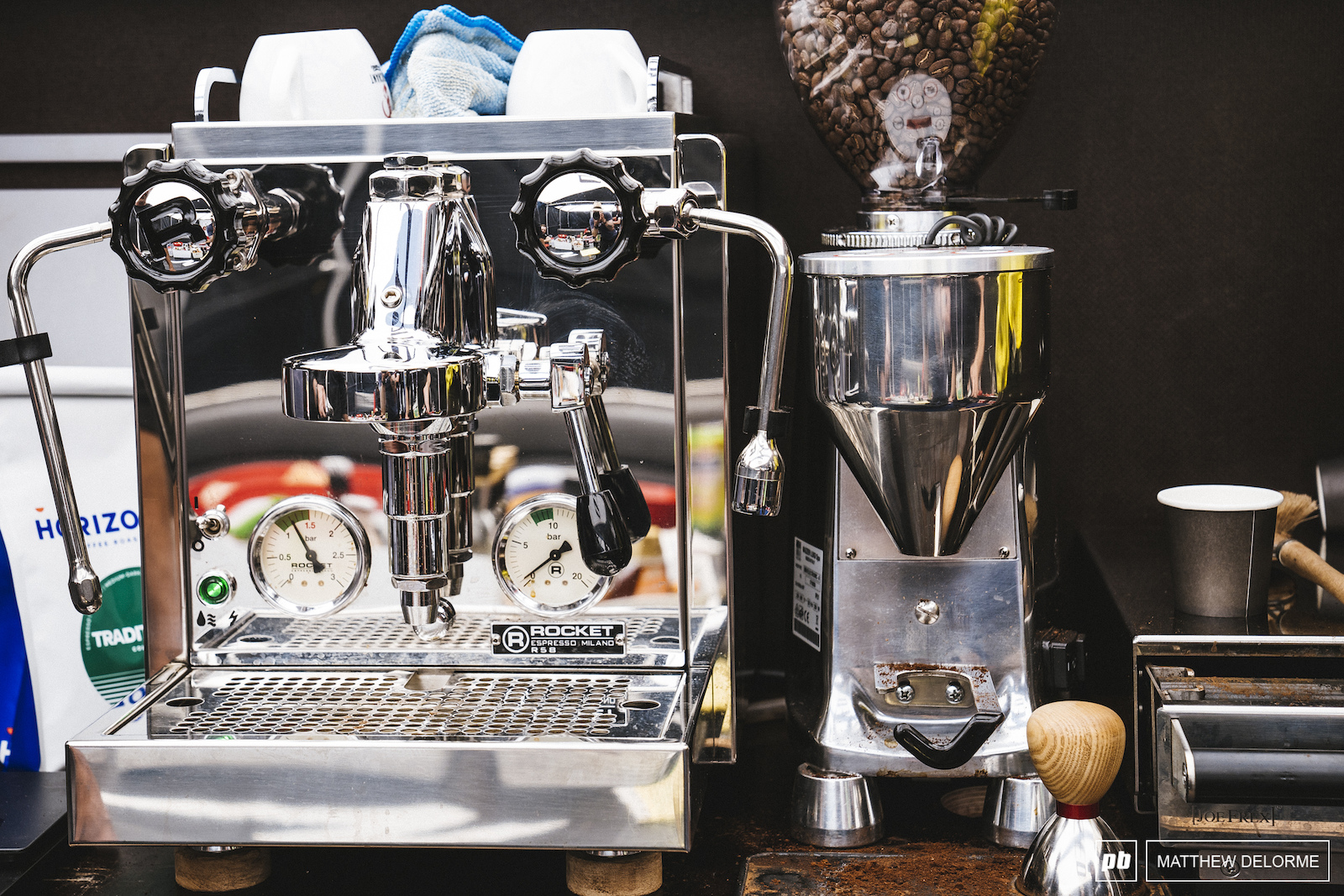 The Amazing set up of Specialized. Rocket Espresso R58.