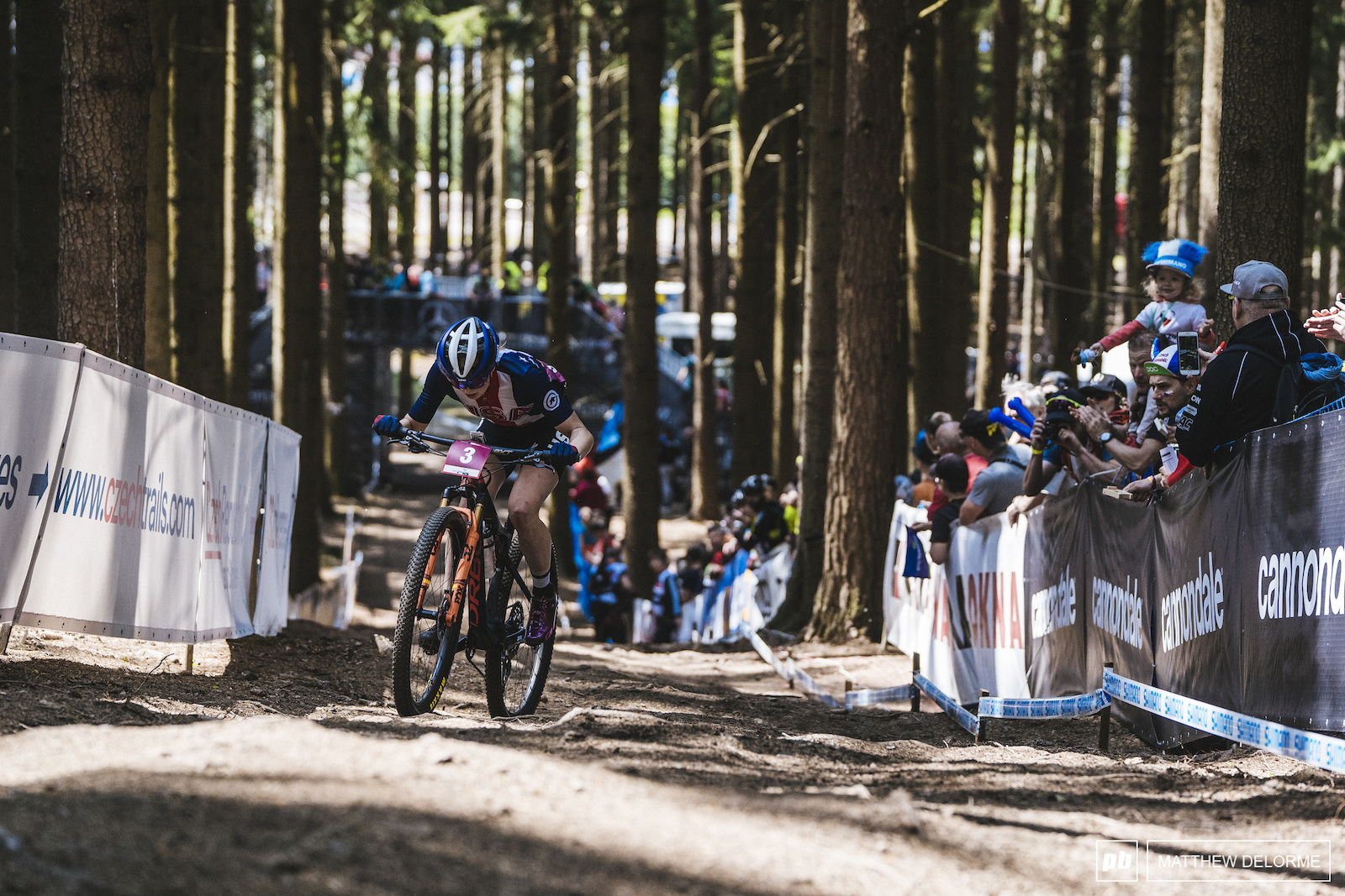 Haley Batten came out hard in the U23 Women s race and never looked back.
