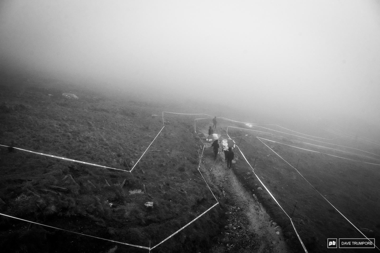 Foggy soggy Fort William