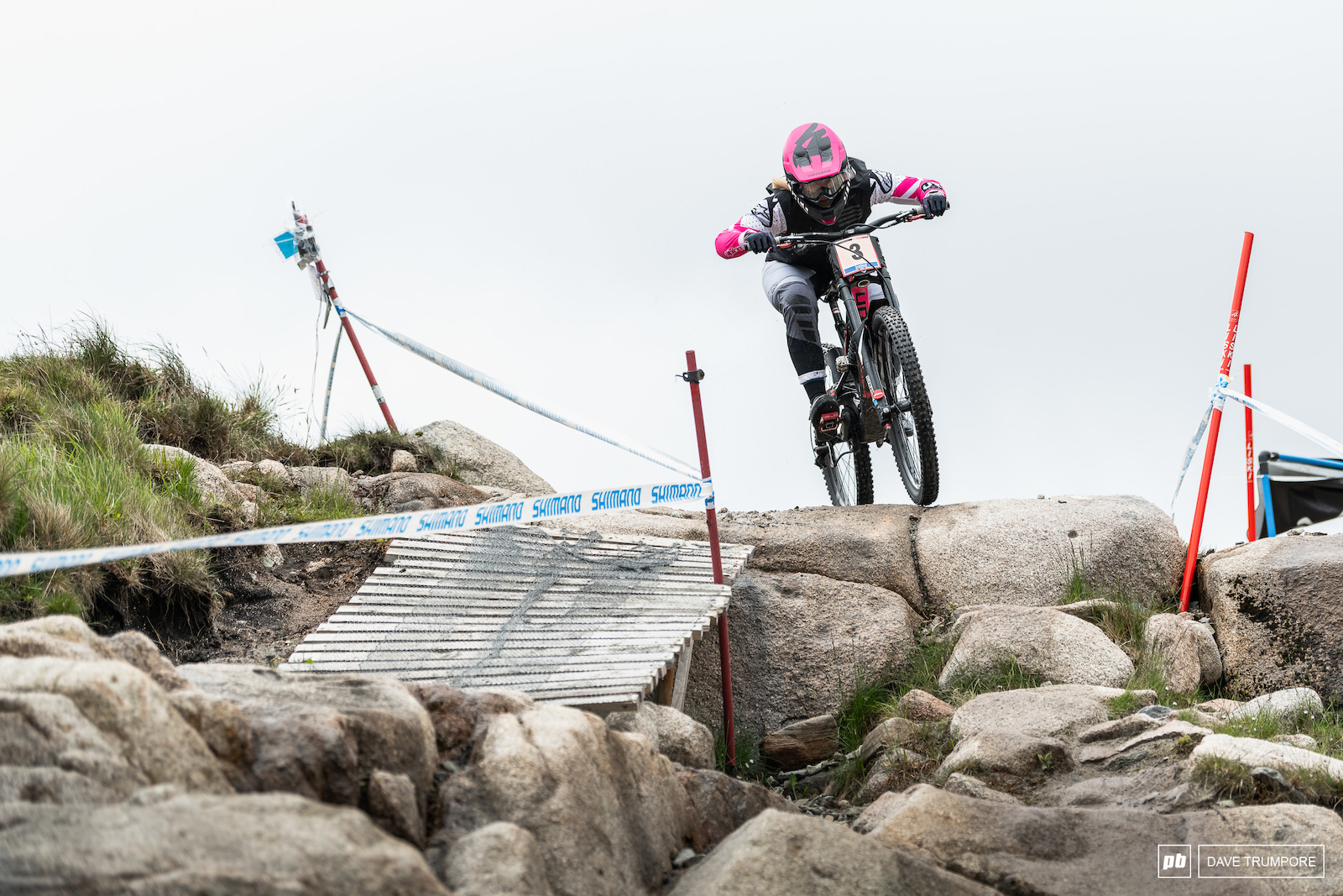 Tracey Hannah took the top spot once again in the women s race.