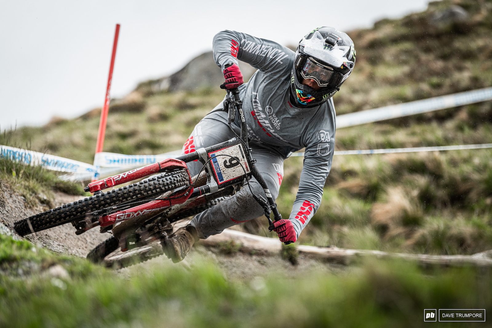 2nd on the day for Amaury Pierron on the track that saw him claim his first World Cup win just one year ago.