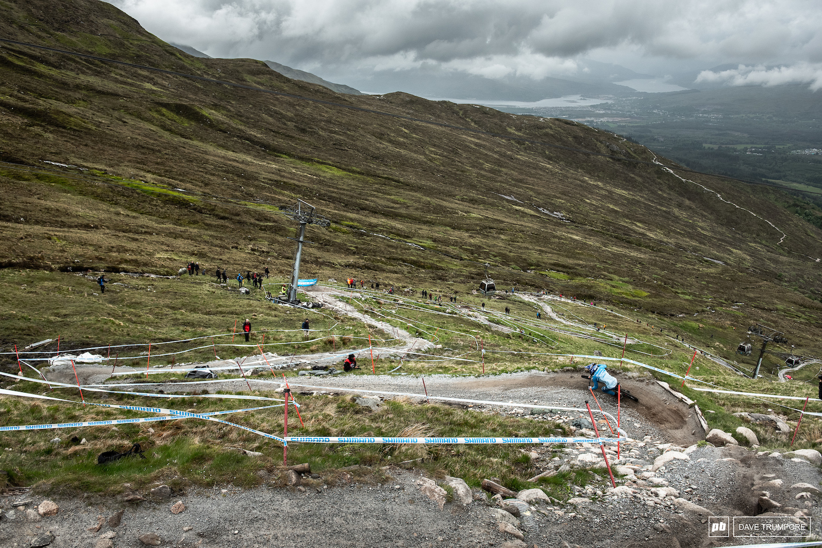 Big views of a big track in the Scottish Highlands.