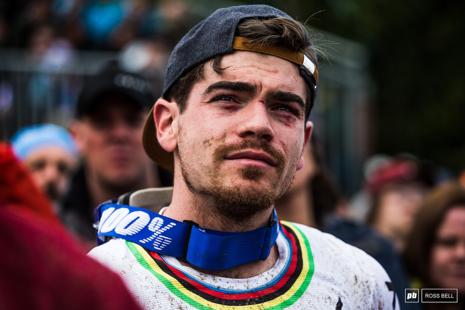 Battered and bruised but not out. Loic Bruni lost the number 1 plate and leaders jersey but will be hungry to get it back in Leogang next time out.