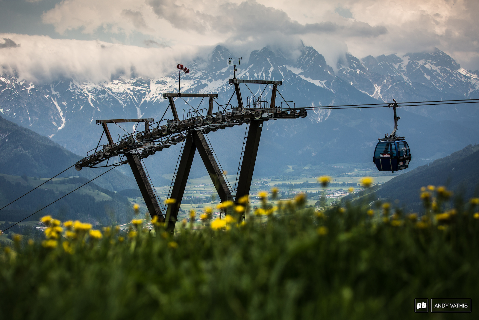 A crowd favourite Leogang is blessed with stunning views wherever you turn.