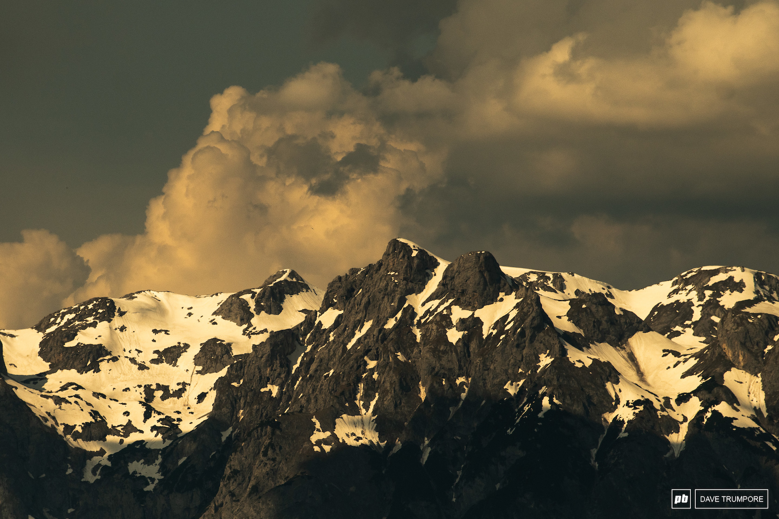 After the storms roll through the evening light in the mountains is hard to beat.