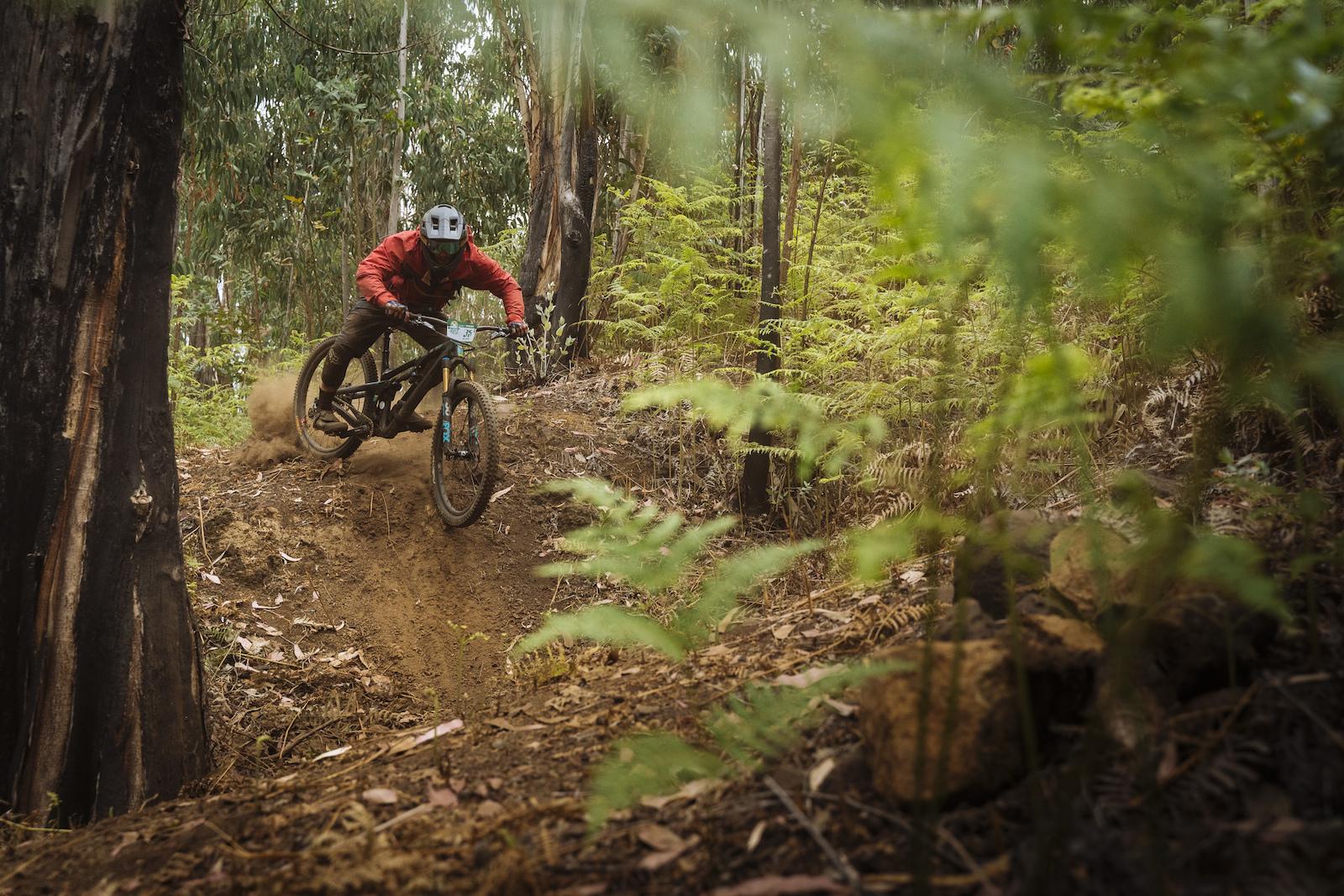 Fresh cut dusty sections encouraged wild riding.