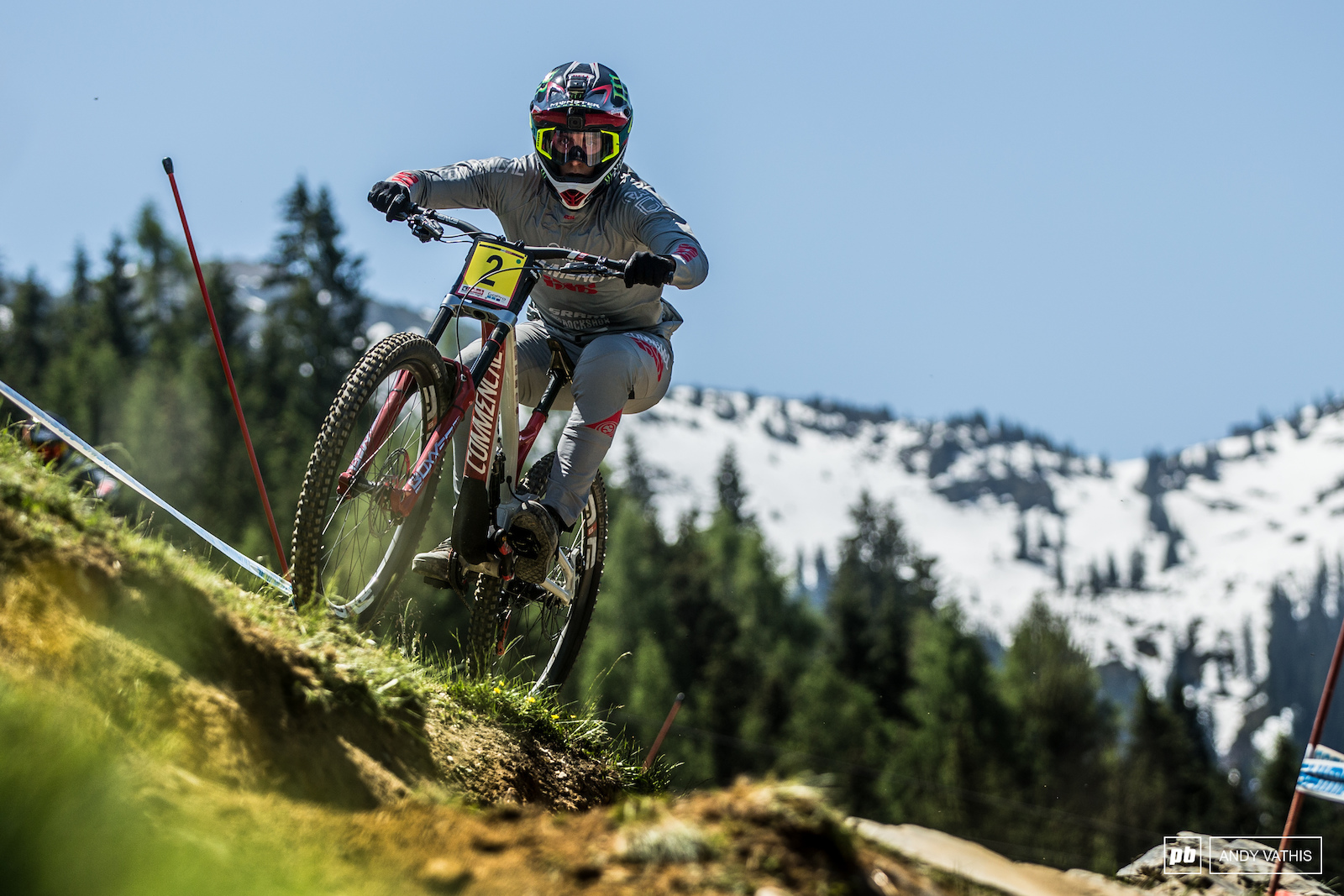 It did not take long for Amaury Pierron to find his pace.