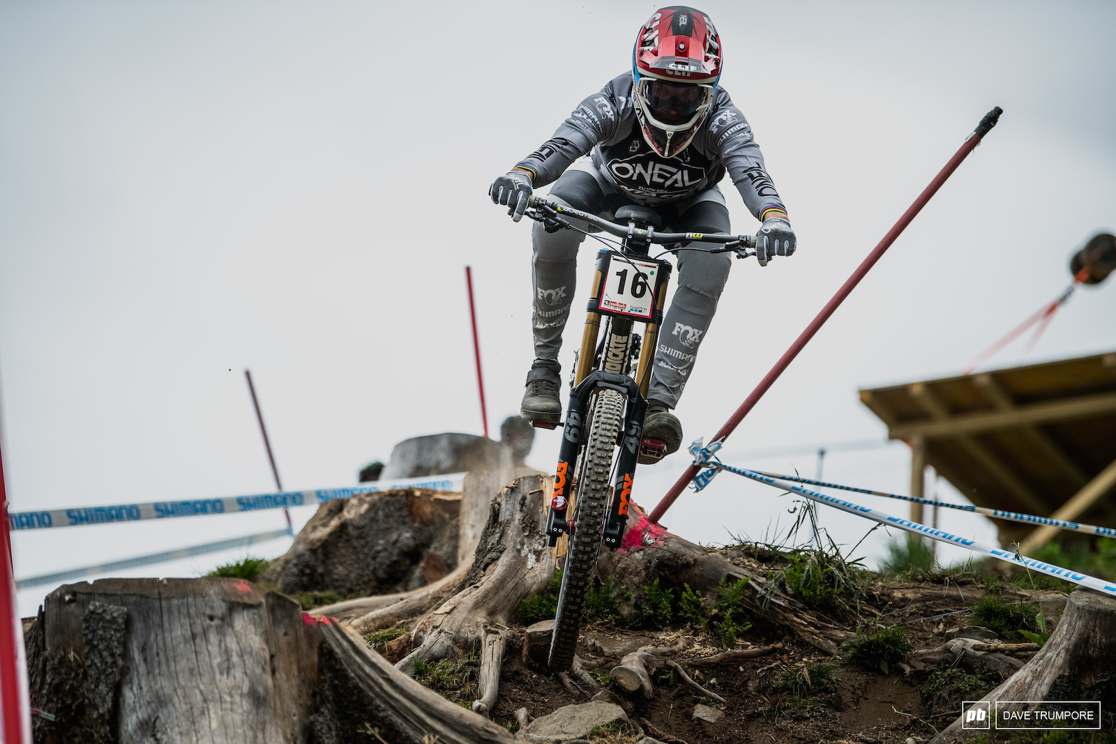 Greg Minnaar once again showing the next generation how it s done.