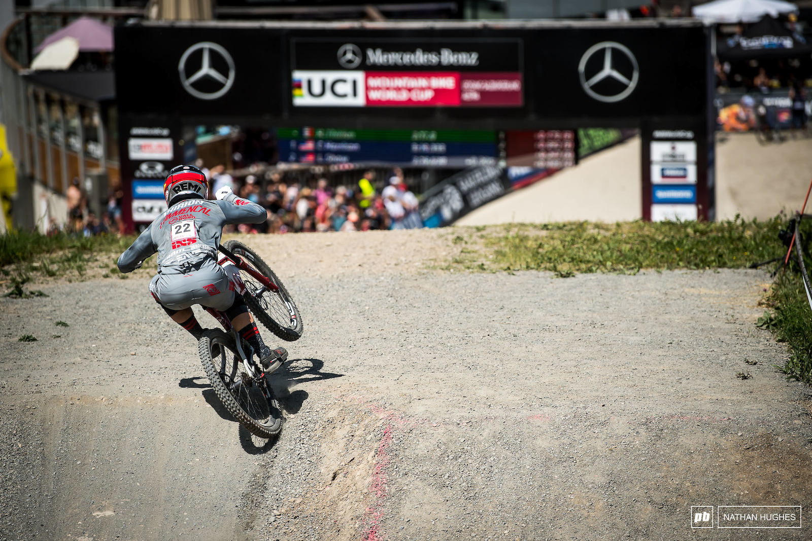 Most excellent to see Remi Thirion crushing his demons here in Leogang and riding to 15th place.