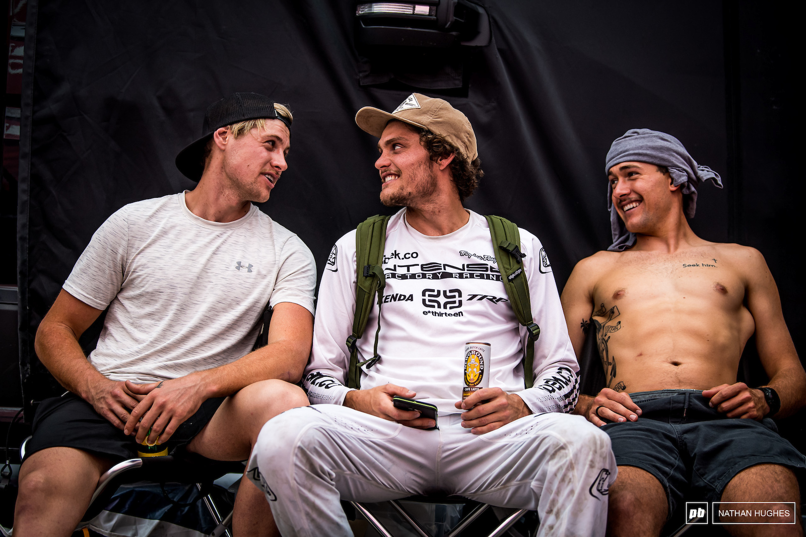 Moir and old teamies Harrison and Lucas talk the talk after two very different weeks of mixed fortunes at the races.