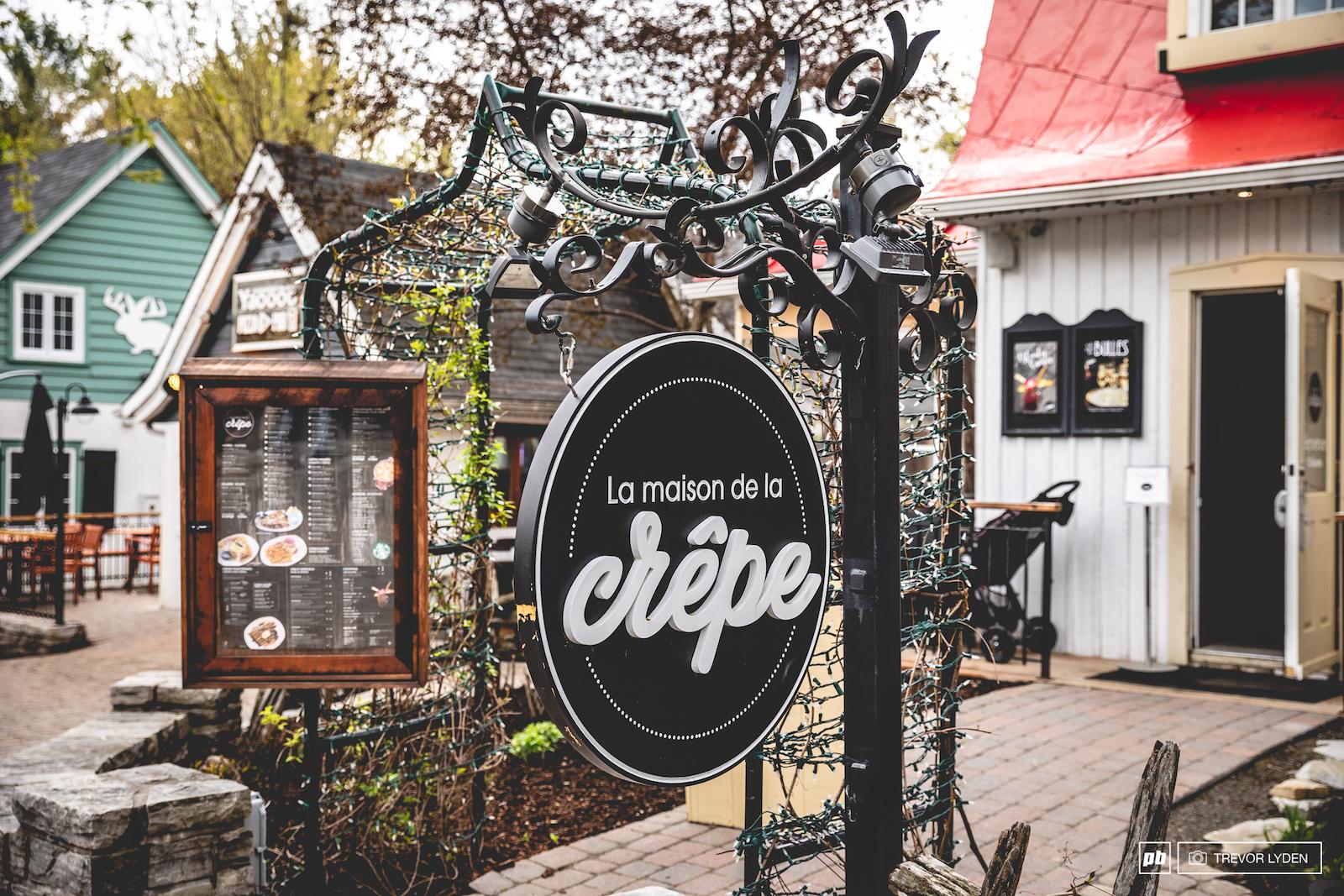 The best spot for breakfast in the village.