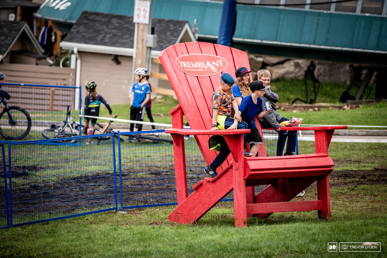 World famous giant Tremblant chair