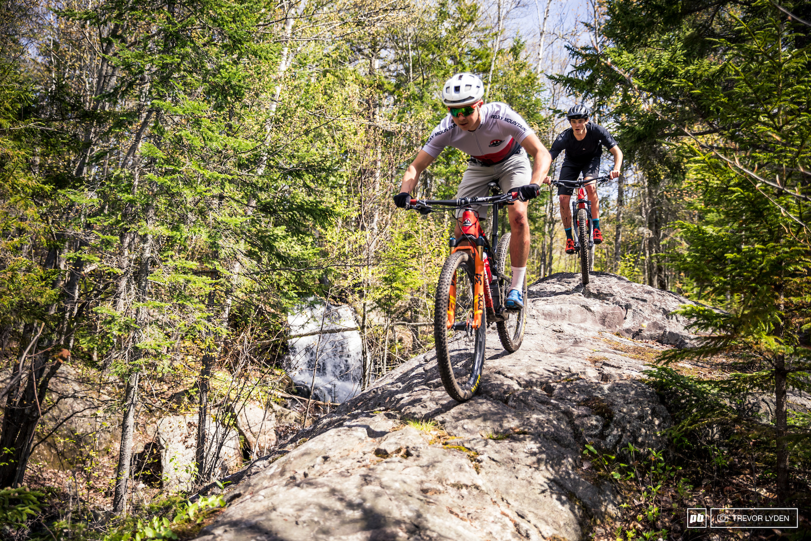 Waterfalls and granite slabs that s what Mont Tremblant is all about.