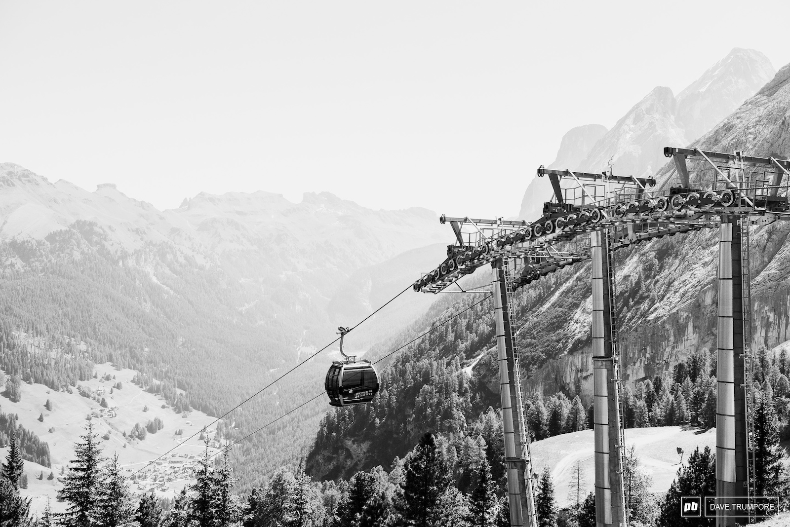 The EWS will be the first time bikes have been allowed up this particular gondola and the trails below are as fresh as it gets.