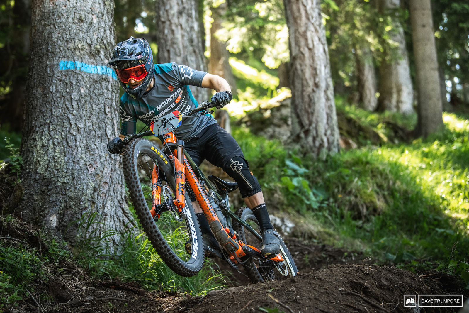 Jesse Melamed only has one podium finish this season but his consistency has landed him 2nd in the overall.