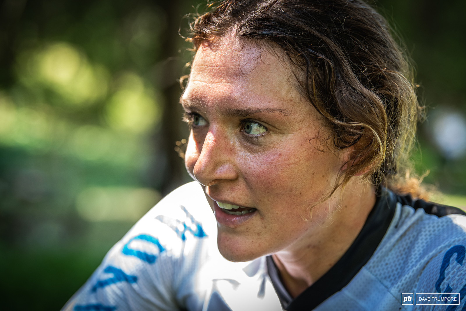 Ines Thoma had a great start to her day before a puncture would put her out of the running.