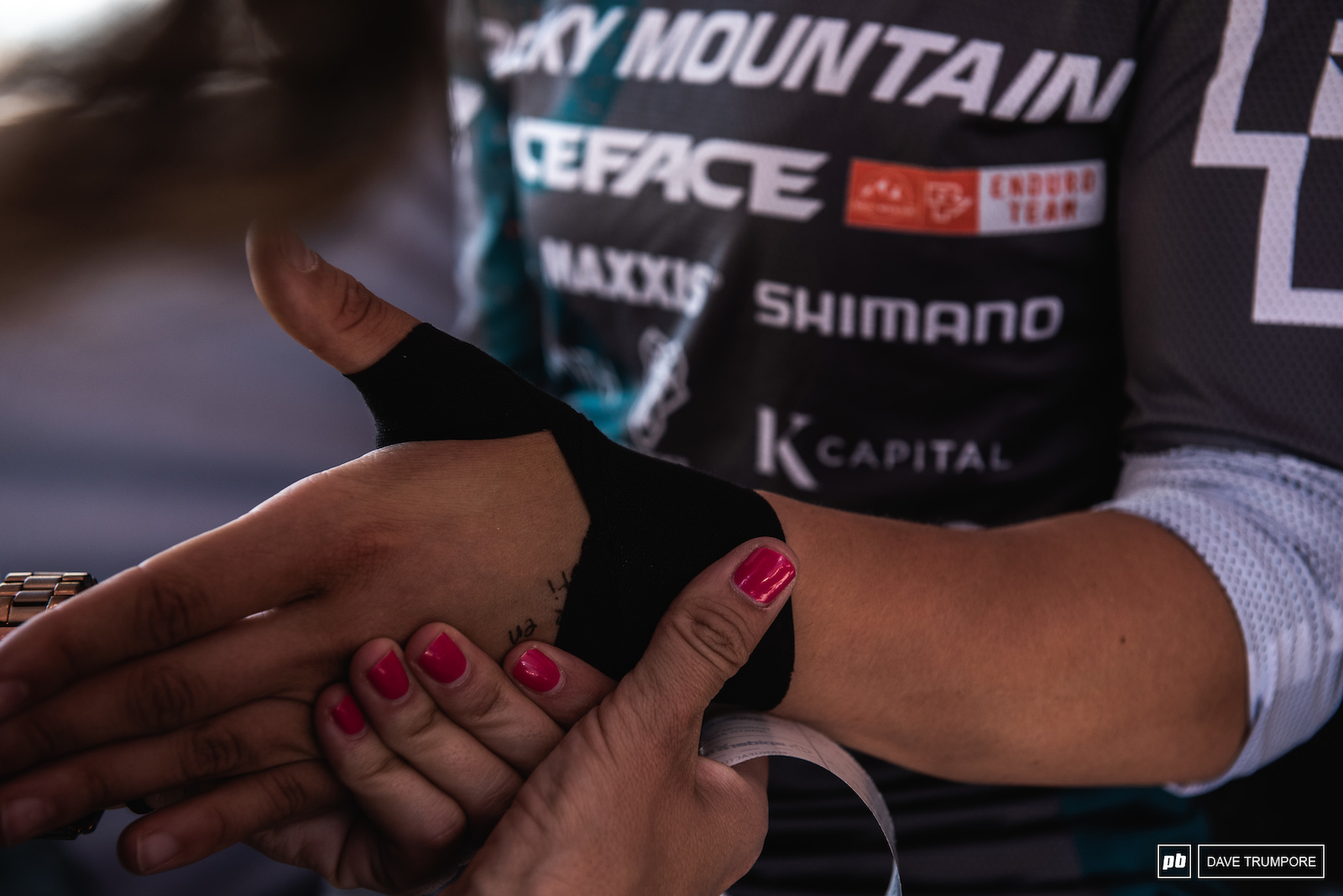 ALN joked that her wrist has been held together by tape for what seems like years now. If so that tape is strong enough to smash out a 2nd place finish.