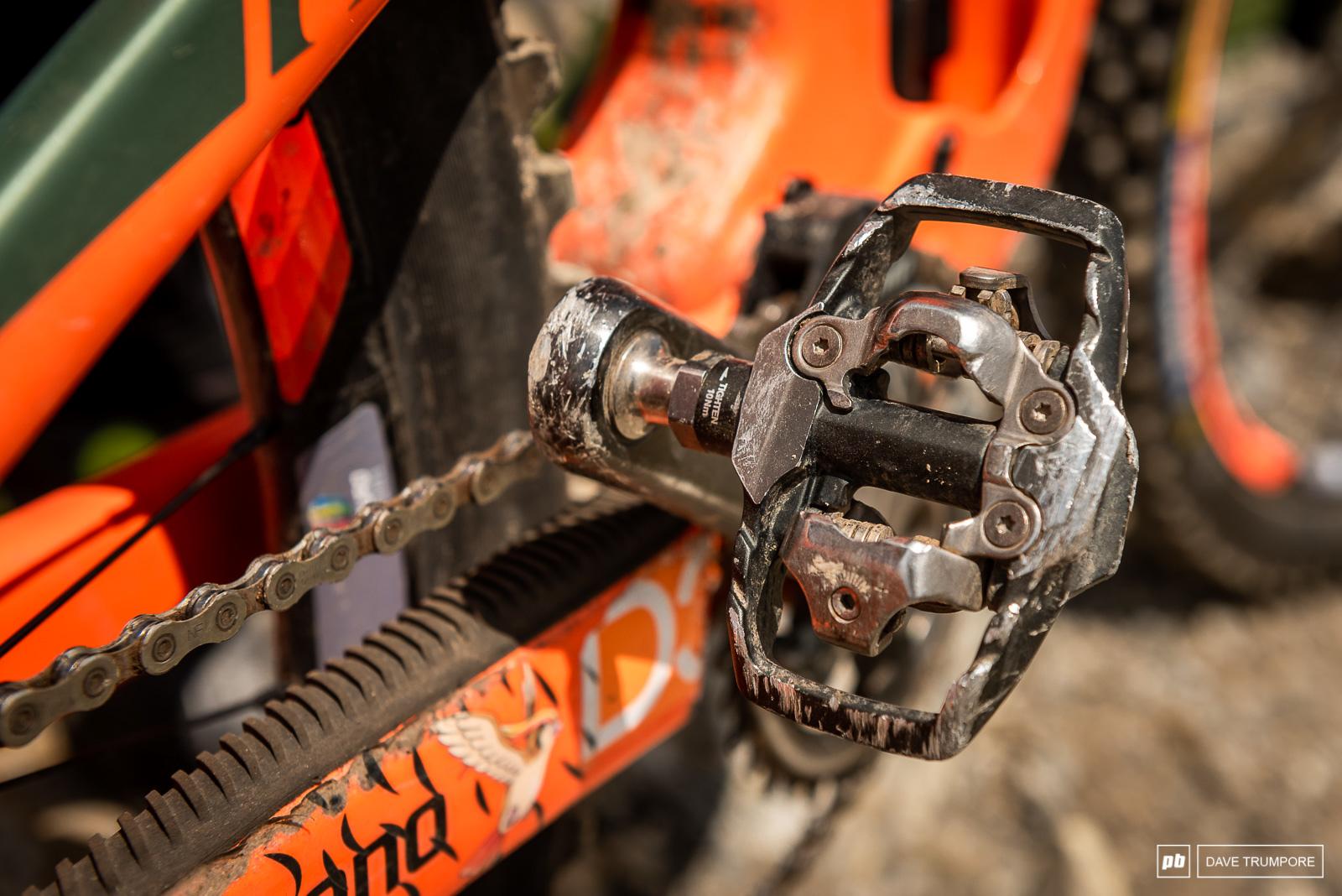 Elliot Trabac's Scott Ransom - XTR pedals