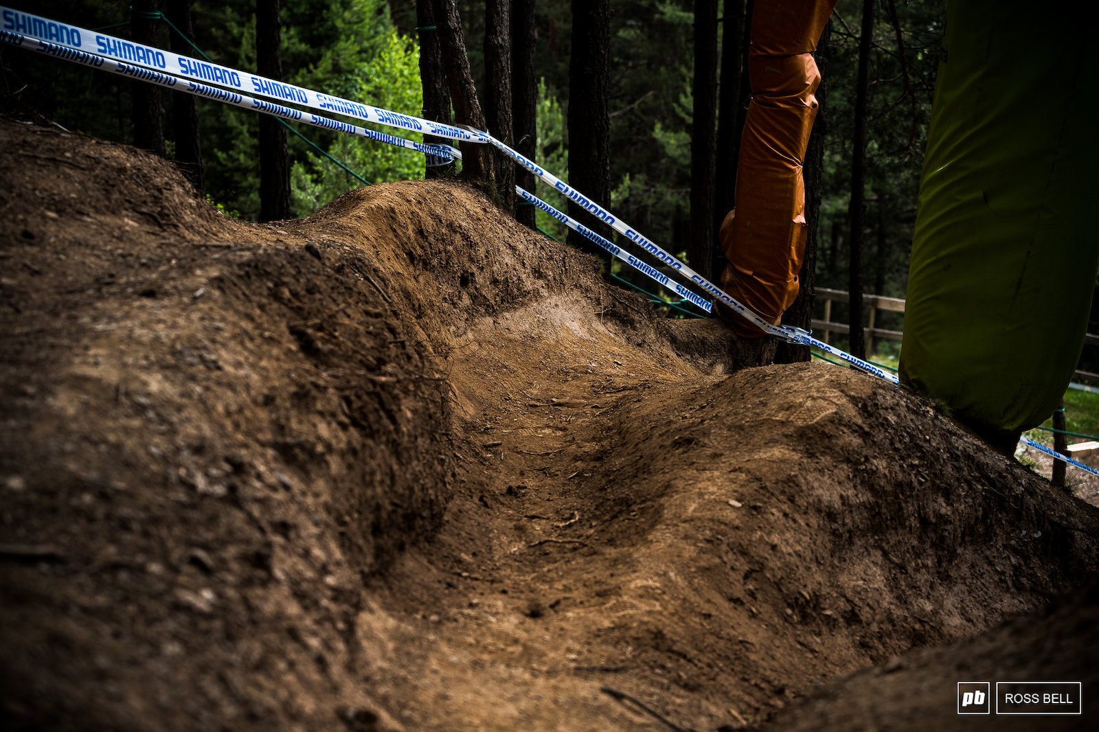 The ruts get deeper here every year.