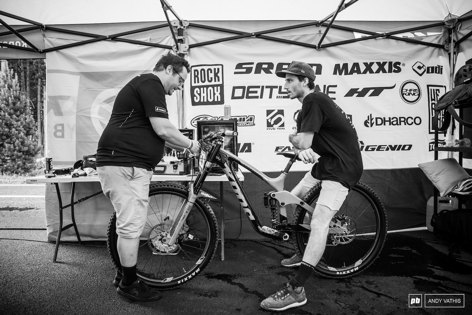 Connor Fearon absorbing Mathew Dupelle s knowledge. This track should suit him just fine.