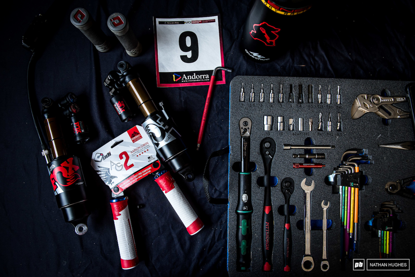Tools and accessories of the 9th best in the game... for now.