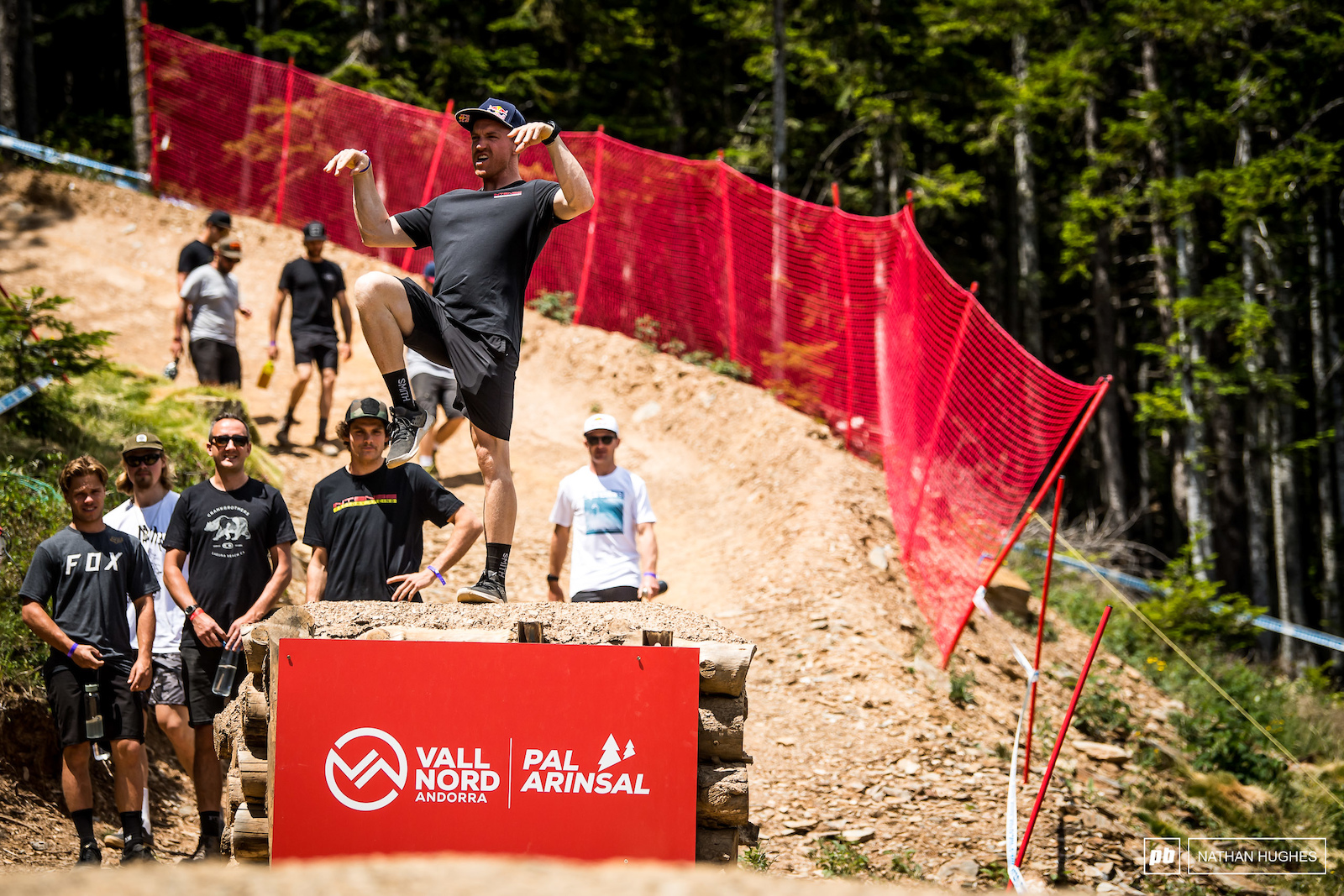 Aaron Gwin back to being a full time kung-fu master now that the ankle s all healed up.