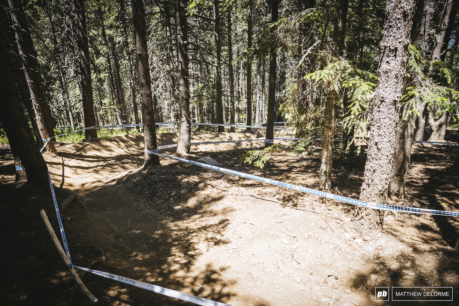 The back side of the track has a bit of bike park feel. Nice berms and a couple doubles just to keep it interesting.
