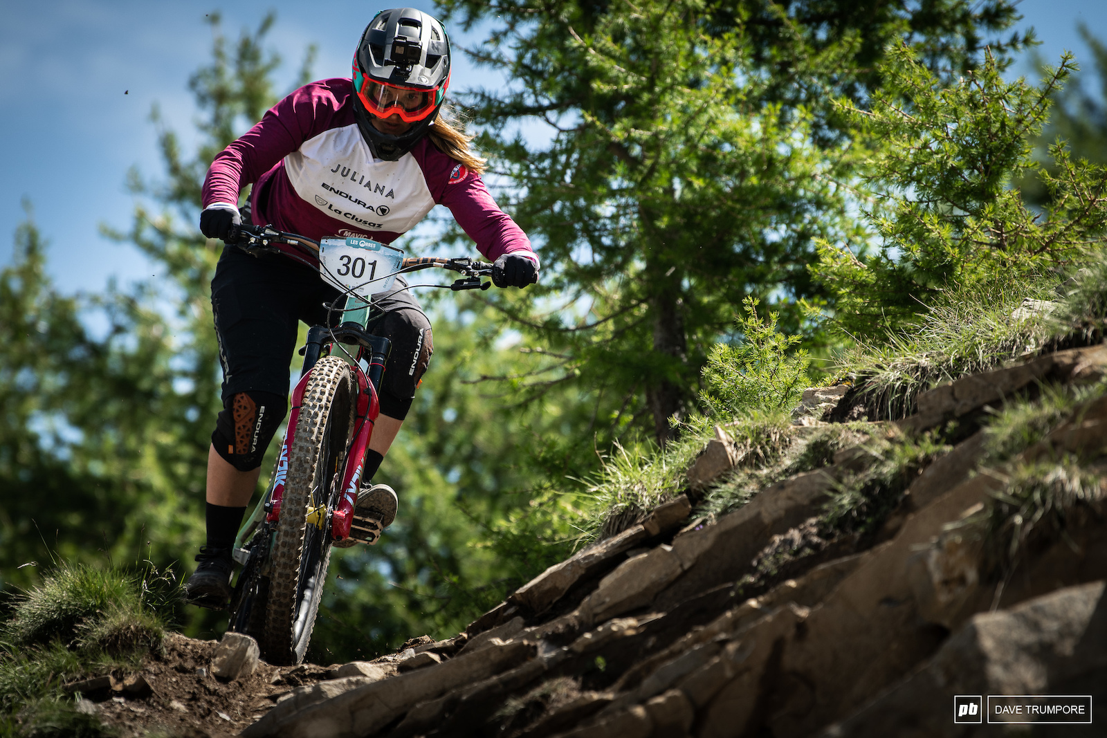 Morgane Charre will be looking to get back on the podium here on French soil.
