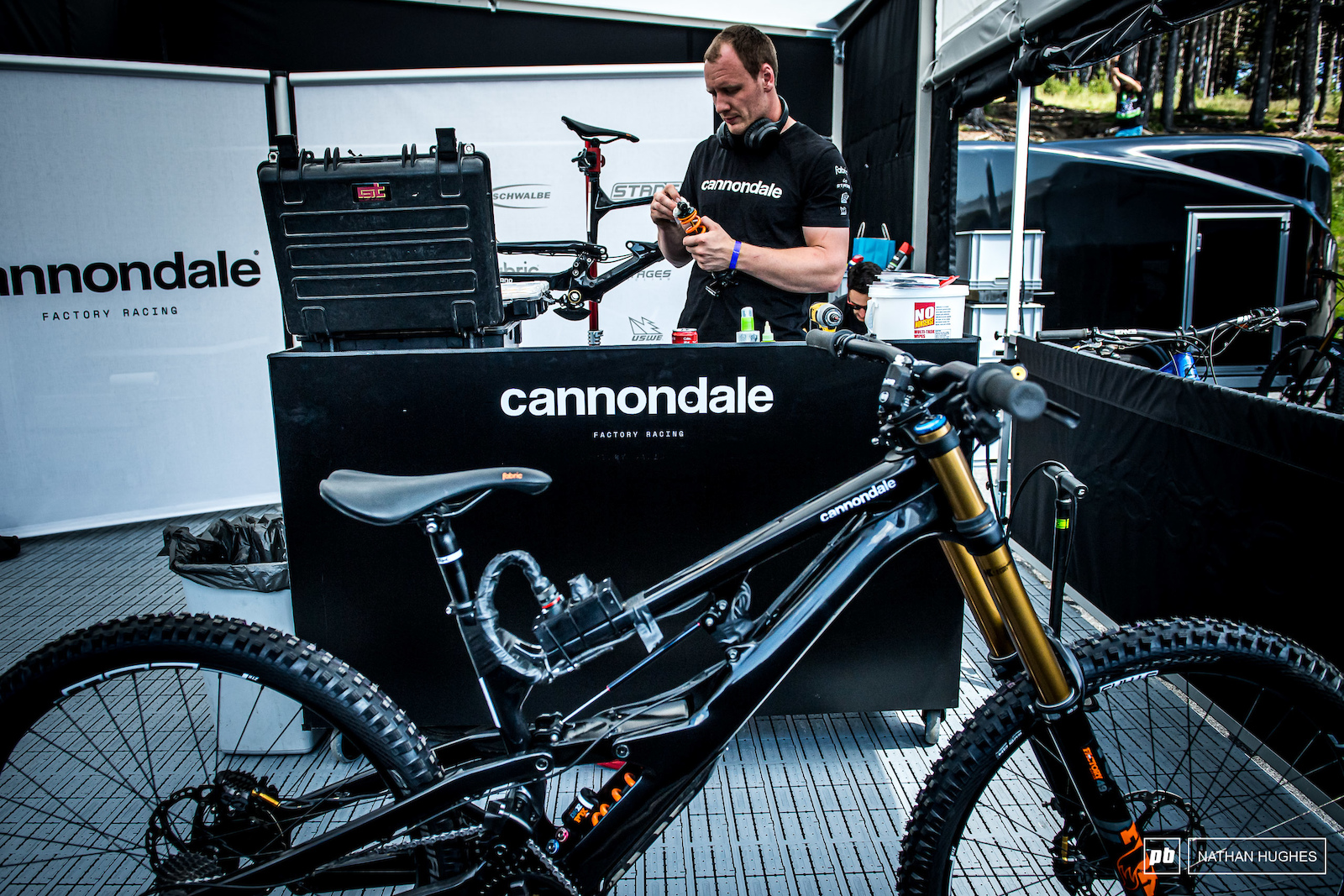 It is most definitely a test. Lots to come from the Cannondale camp this season and certainly those to follow.