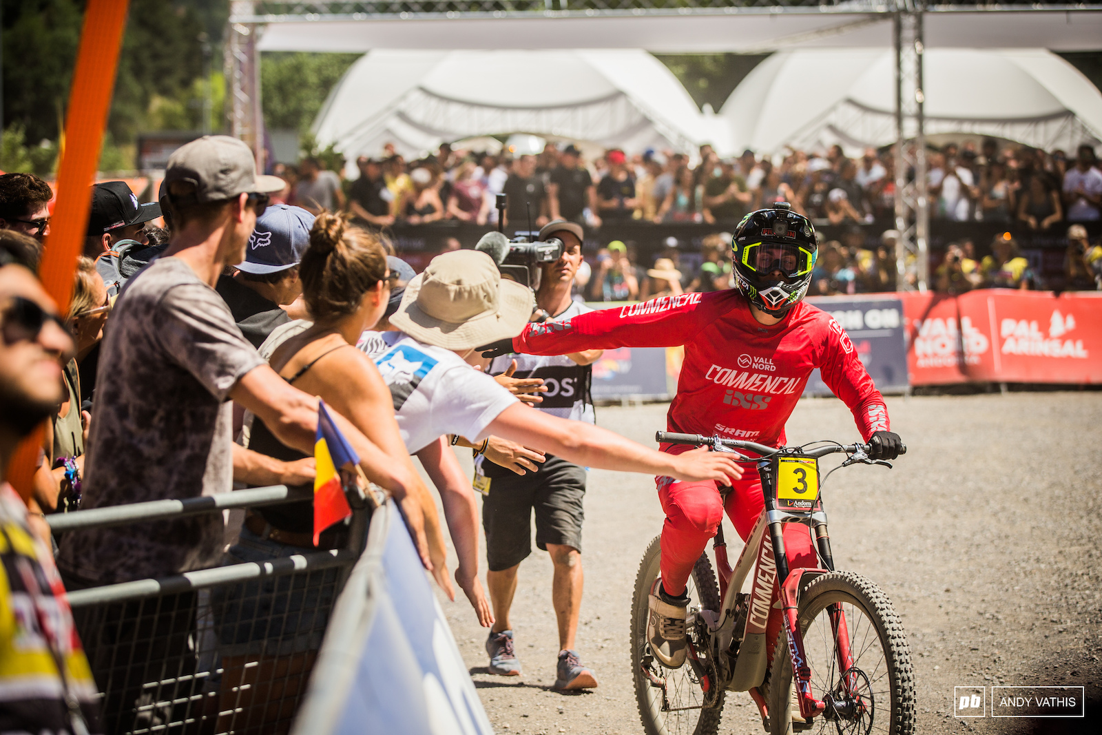 Amaury is loved by all here in Commencal country.