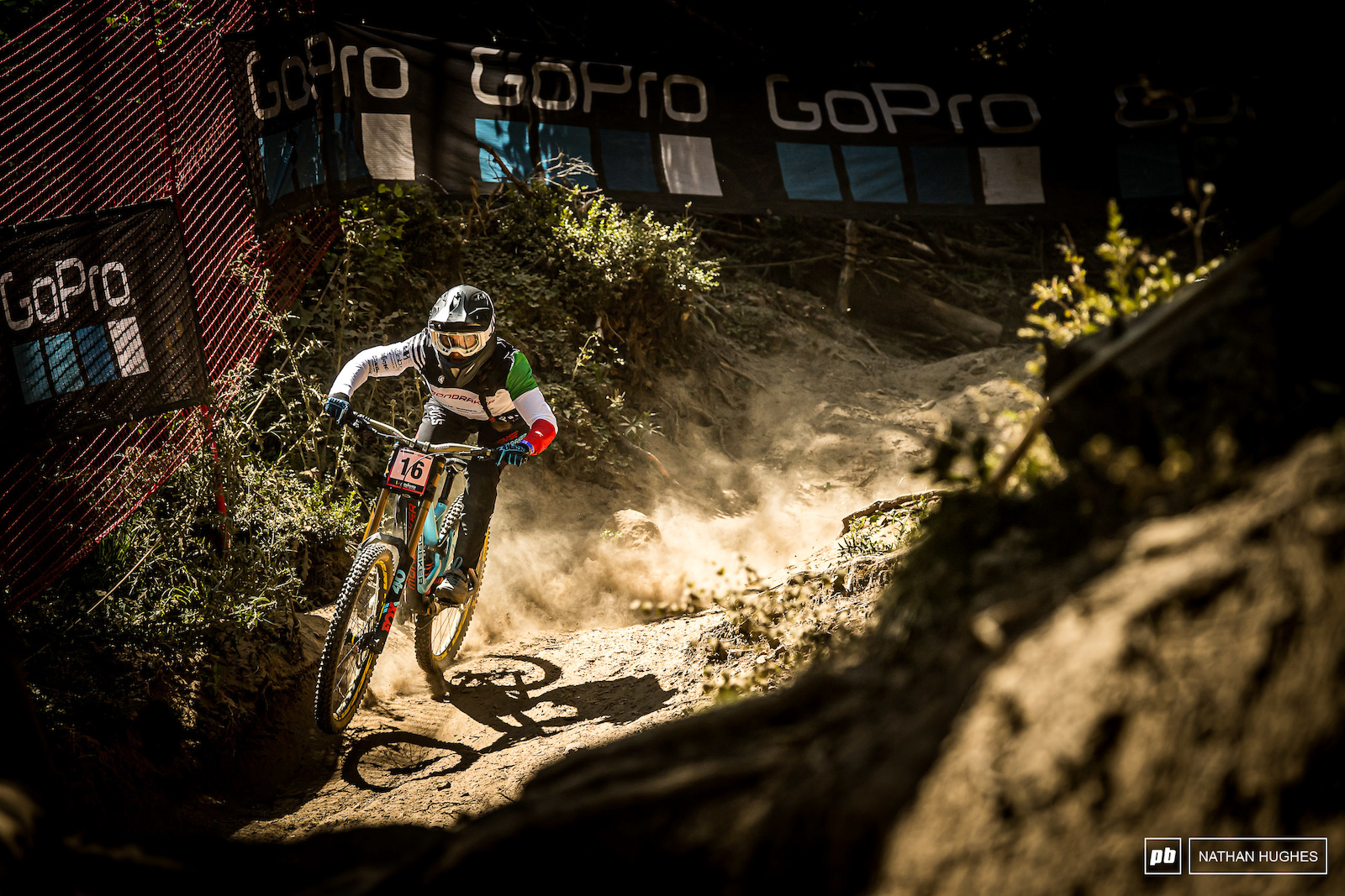 A big day for Italian nationl champ Eleonora Farina hitting the podium for the first time on her Mondraker set-up.