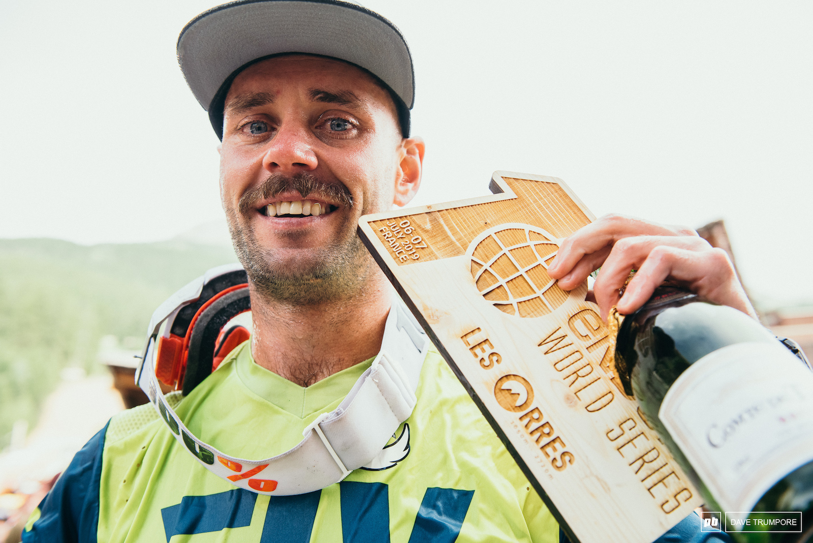 One of the most interesting characters in mountain biking is also one of the most talented. Congrats on a job well done Eddie Masters