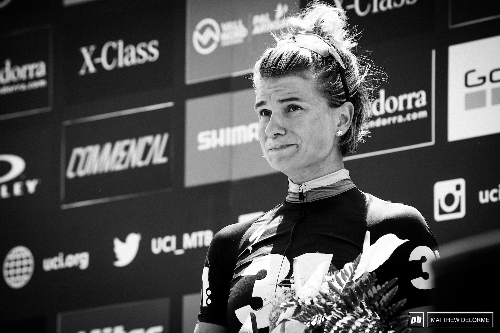 An emotional day for Jenny Rissveds and a much deserved podium.