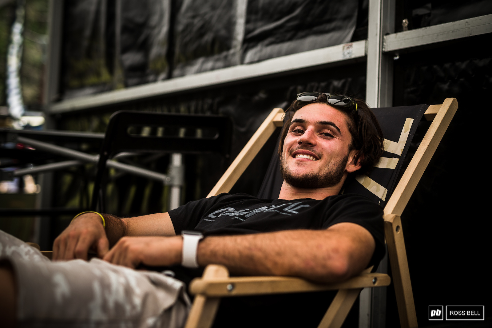 Thibaut Daprela is all good after his massive race run smash last weekend in Andorra.