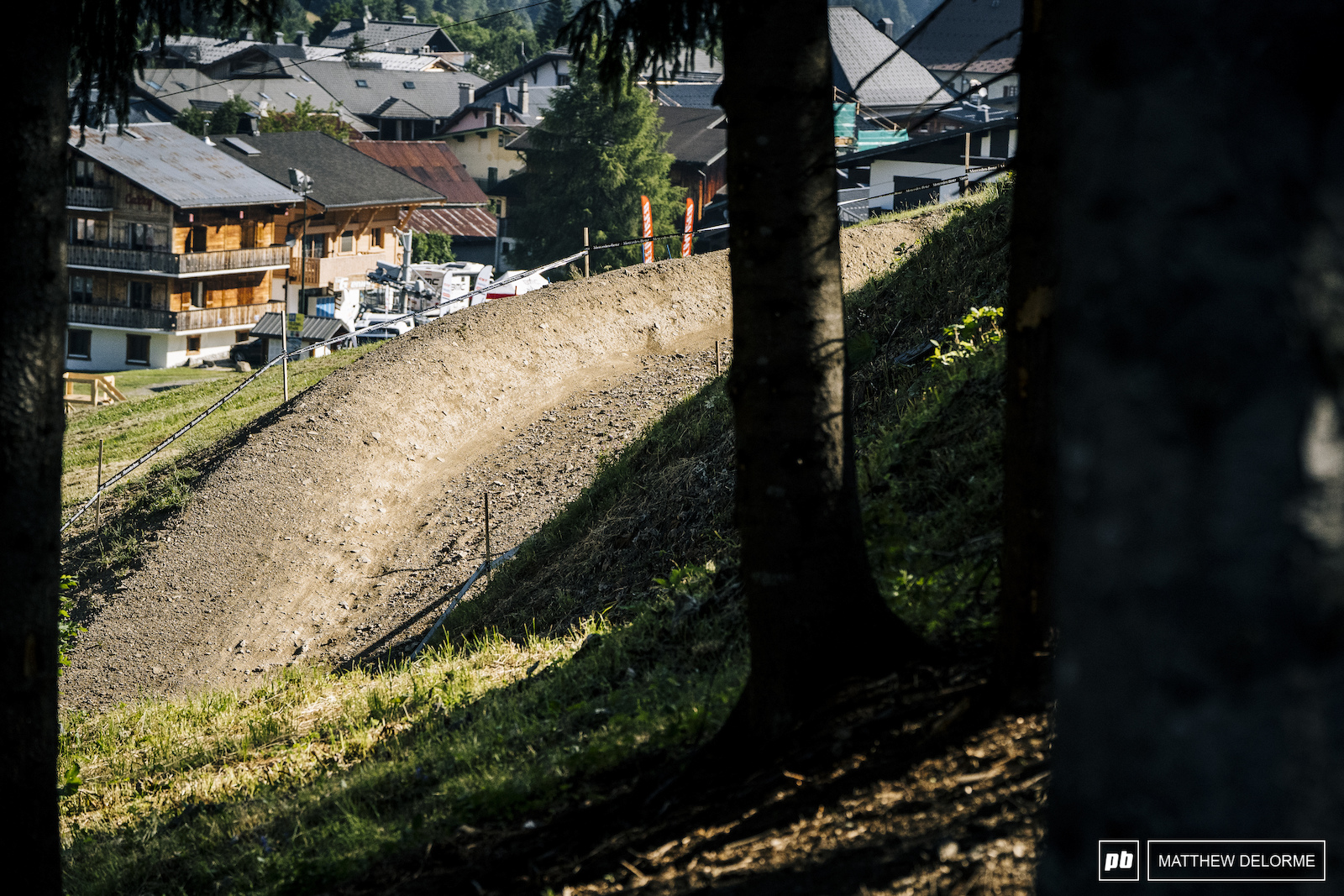 Dual Speed and Style berms could get wild with a bunch of riders on them at once.