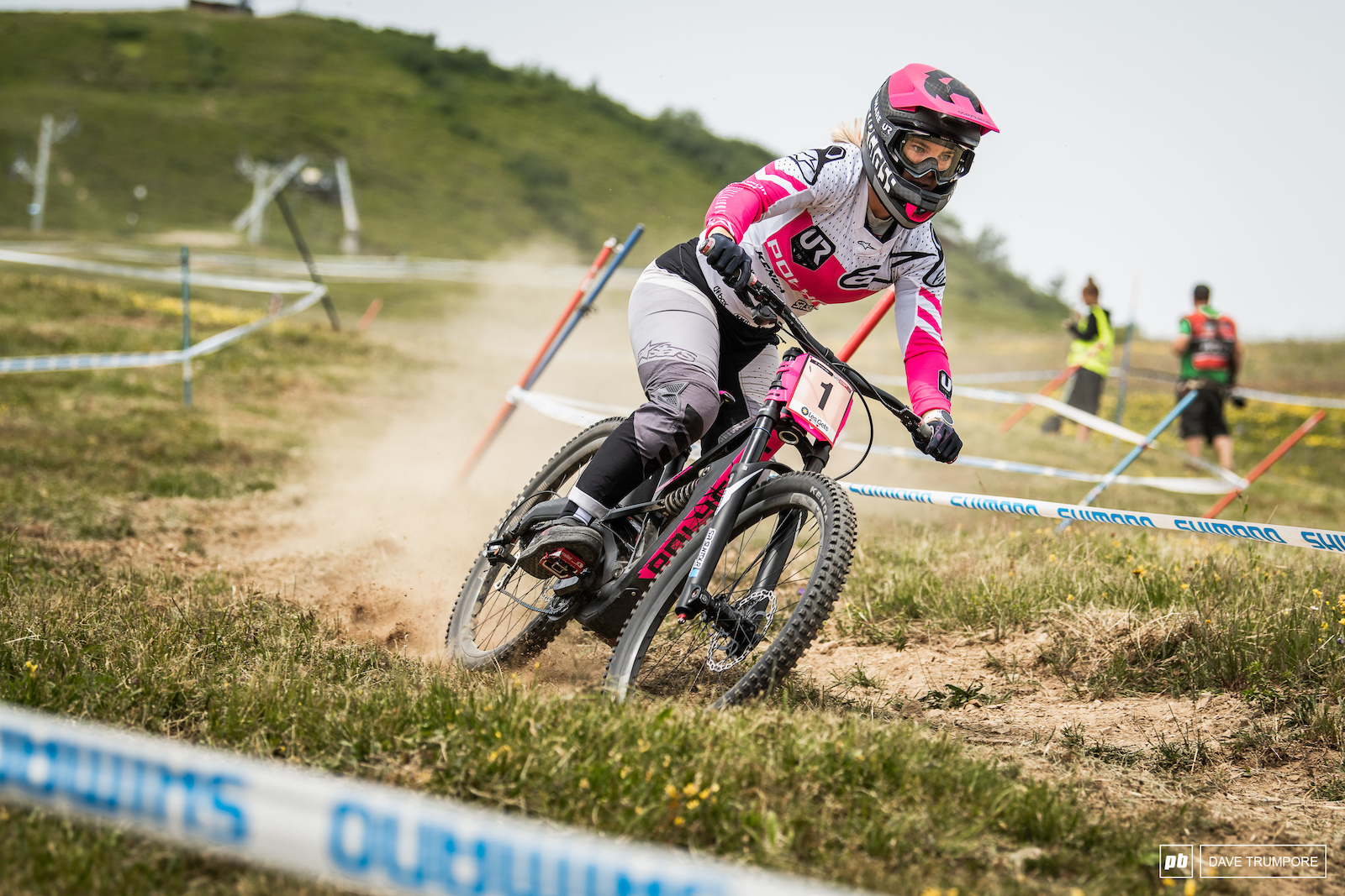 With Rachel Atherton out Tracey Hannah is firmly in command of the Wold Cup title chase.