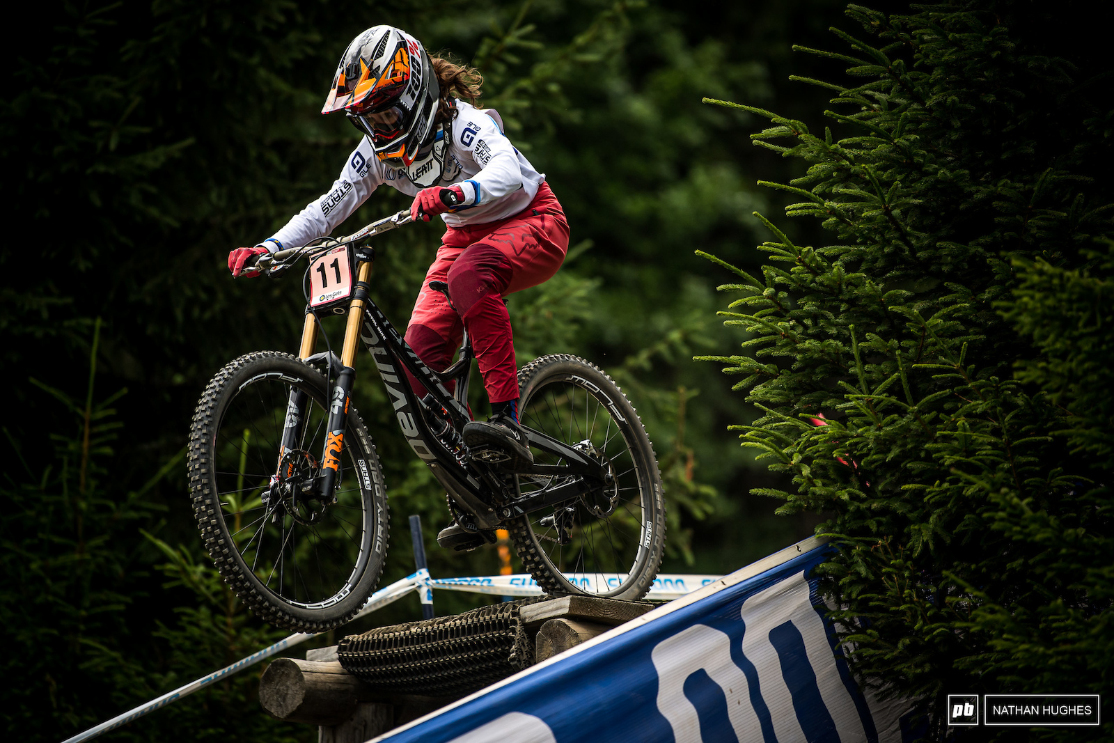 Camille Balanche could be on for the podium. 5th today with 2 seconds to spare.