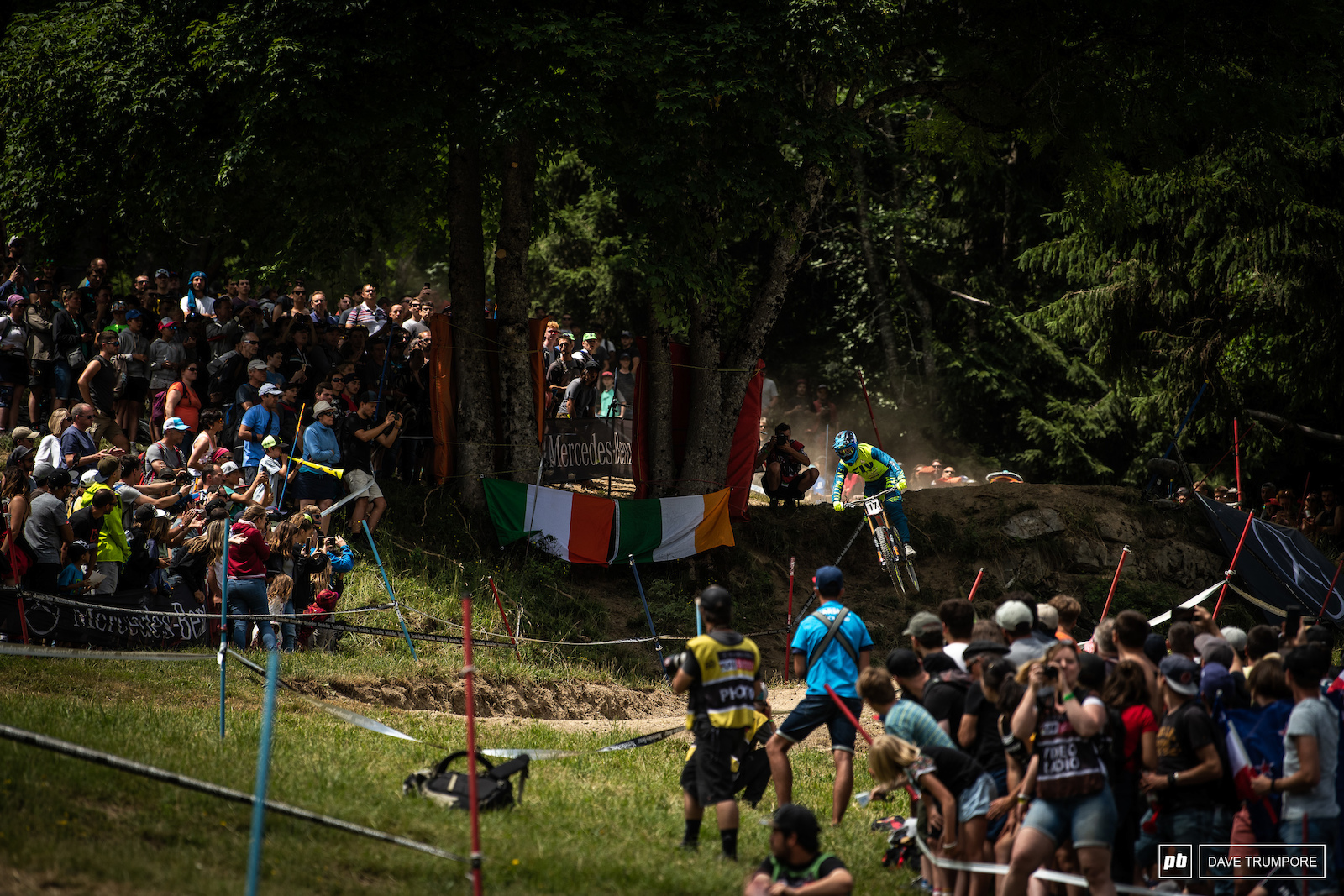 An EWS win one weekend and 11th at a downhill WC the next for Eddie Masters