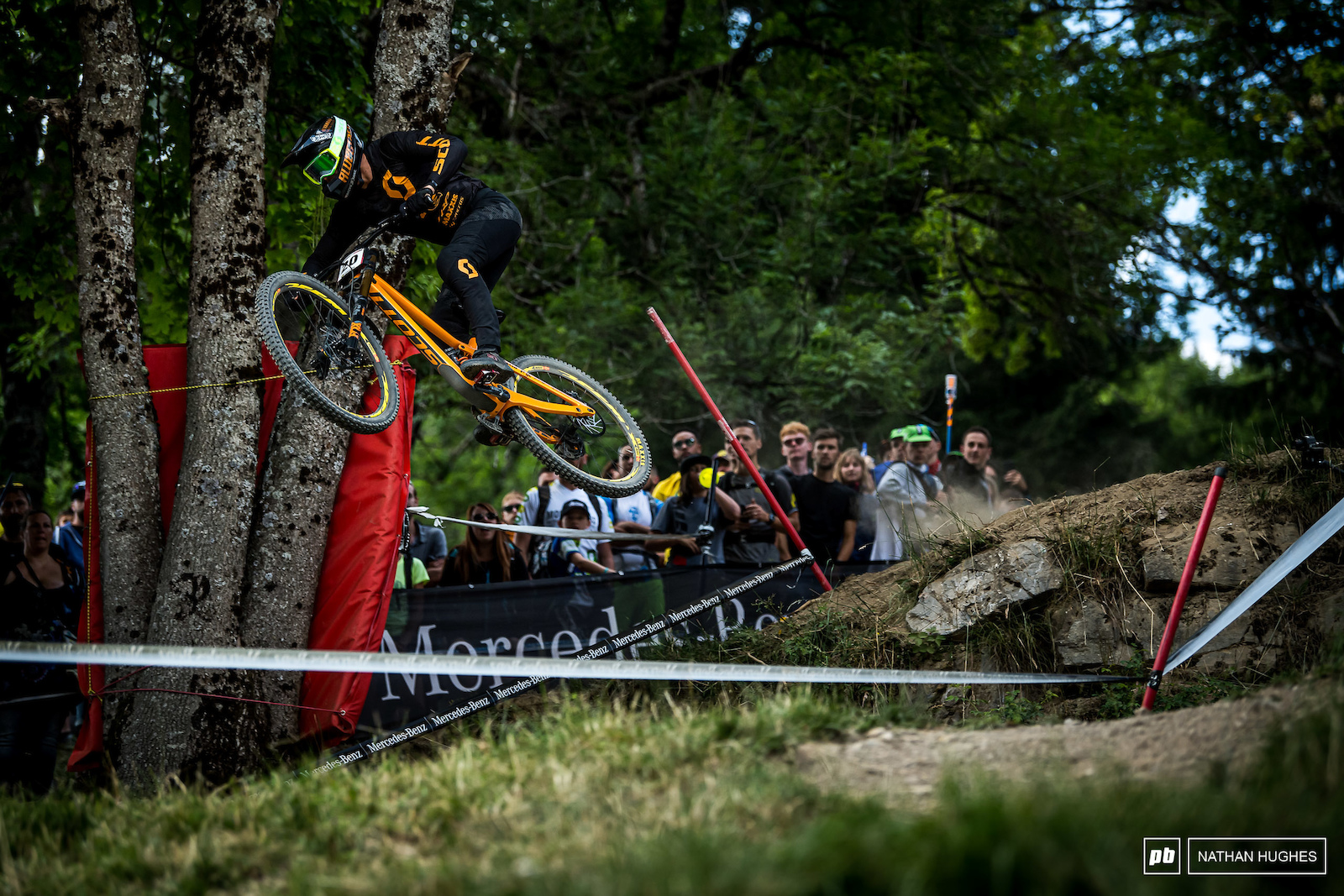 Dean Lucas turned it up a notch here in the Alps and sent it to a convincing 10th.