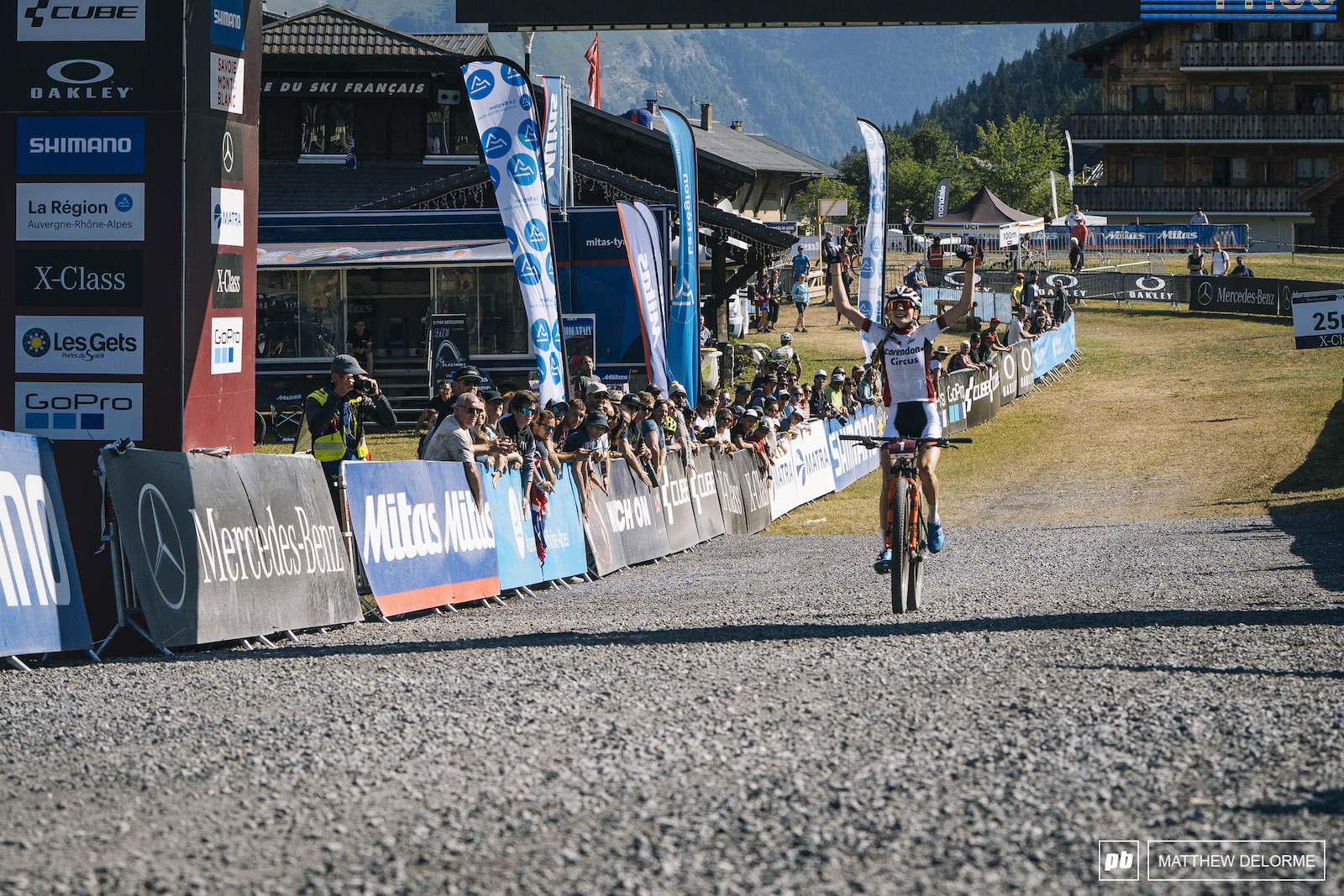 Ronja Eibl takes another win in the U23 women s race.