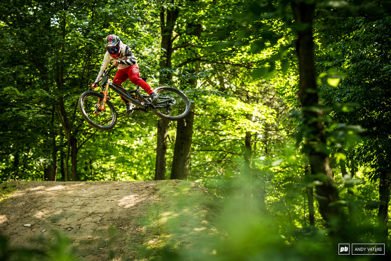 It s easy and quite common to hike laps of the three big and perfectly sculpted tables in Lower Dominion. This section runs parallel to the fire road. Michael up and over with his race style.