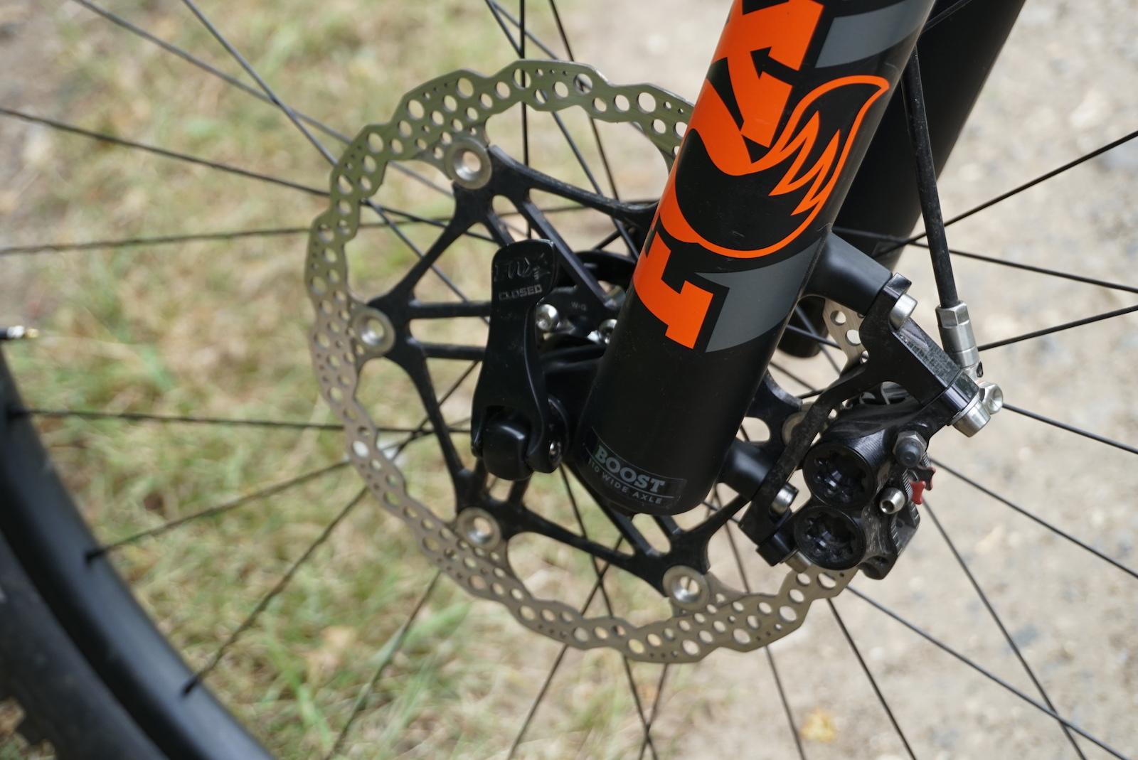 Hope Race Evo E4 disc brakes