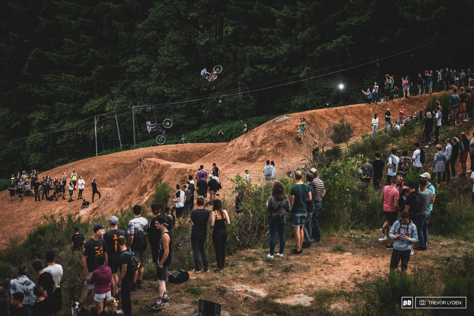 The crowds were stoked on the sessions that went down on the last massive hip.