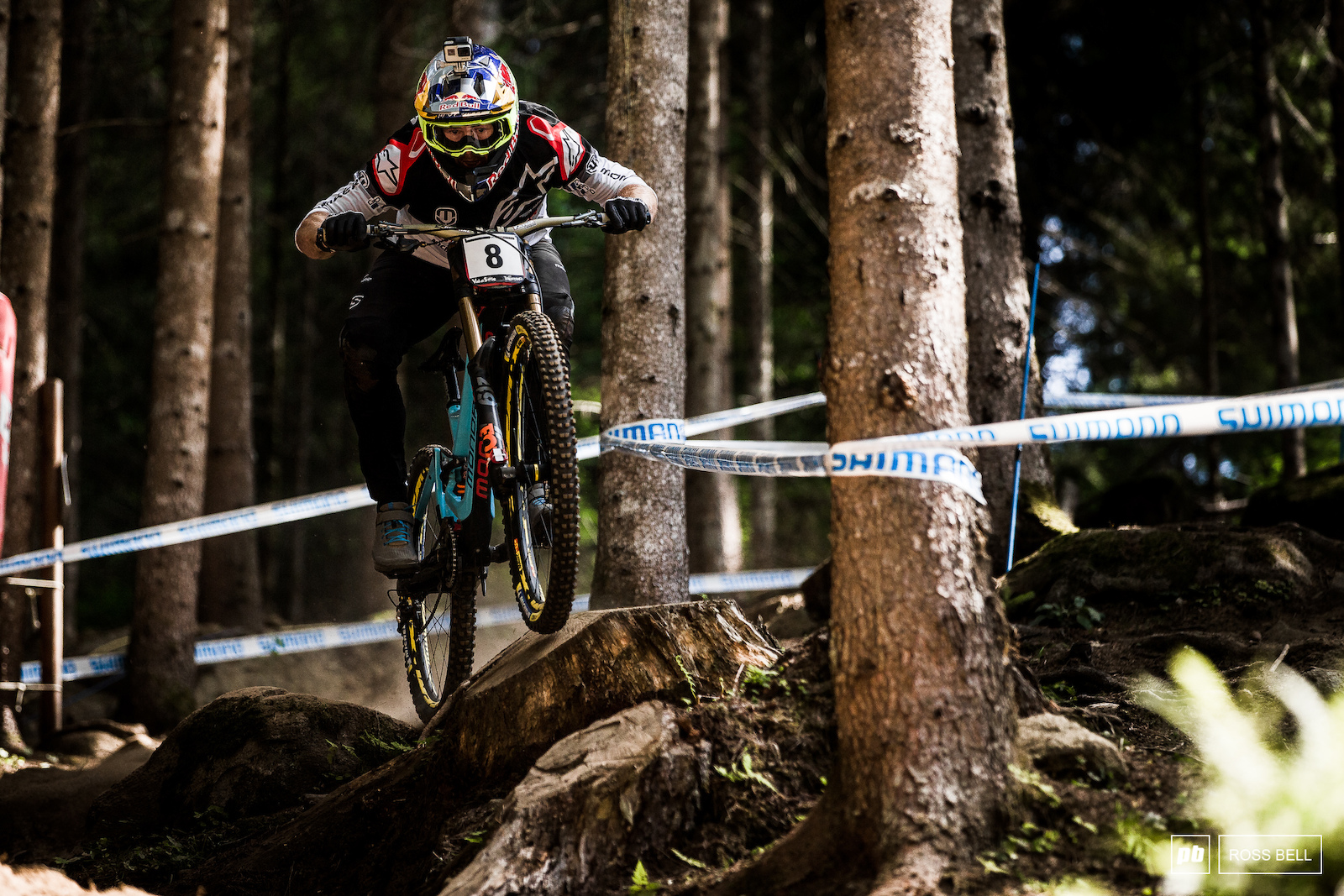 Brook Macdonald and Val di Sole are a match made in heaven. The track here brings out the best in Brook s riding style.
