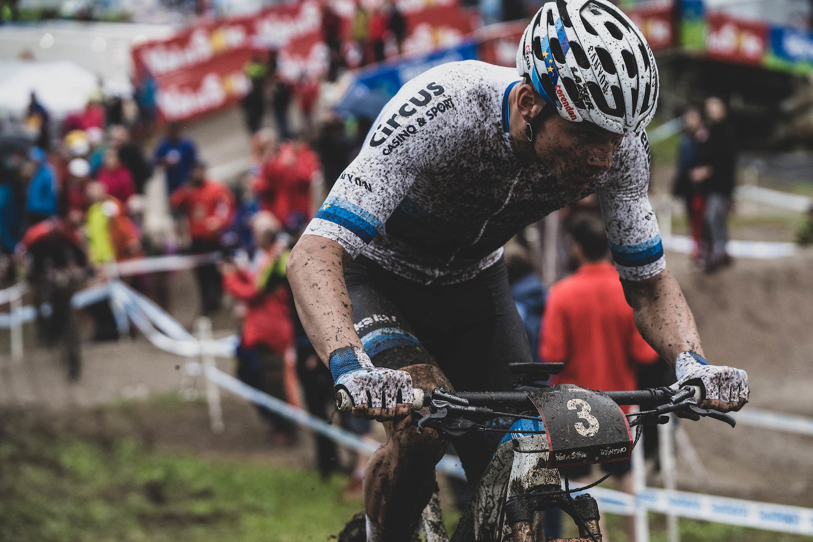 The track and conditions couldn t have been any better suited to Mathieu van der Poel.