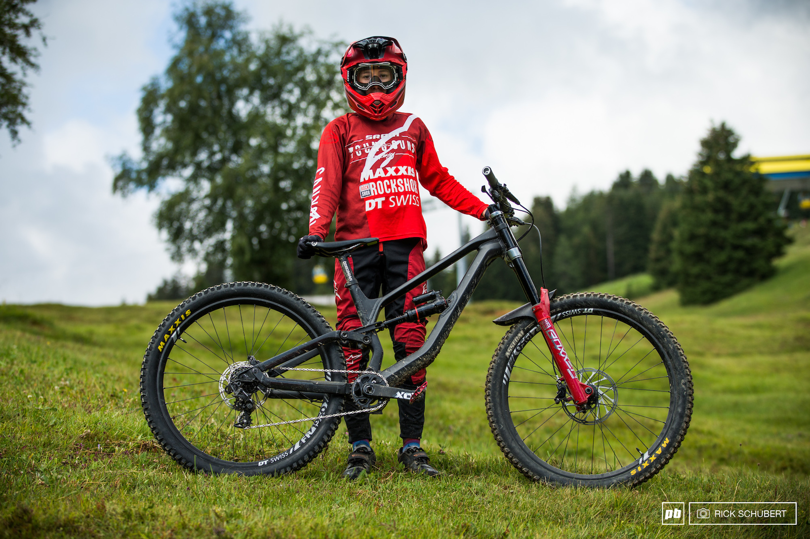 Sram Young Gun Henri Kiefer is just 14 but it feels like he is on the scene forever