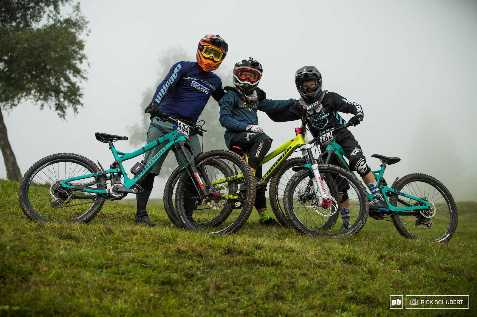 Markus Klausmann and his Propain Youngsters