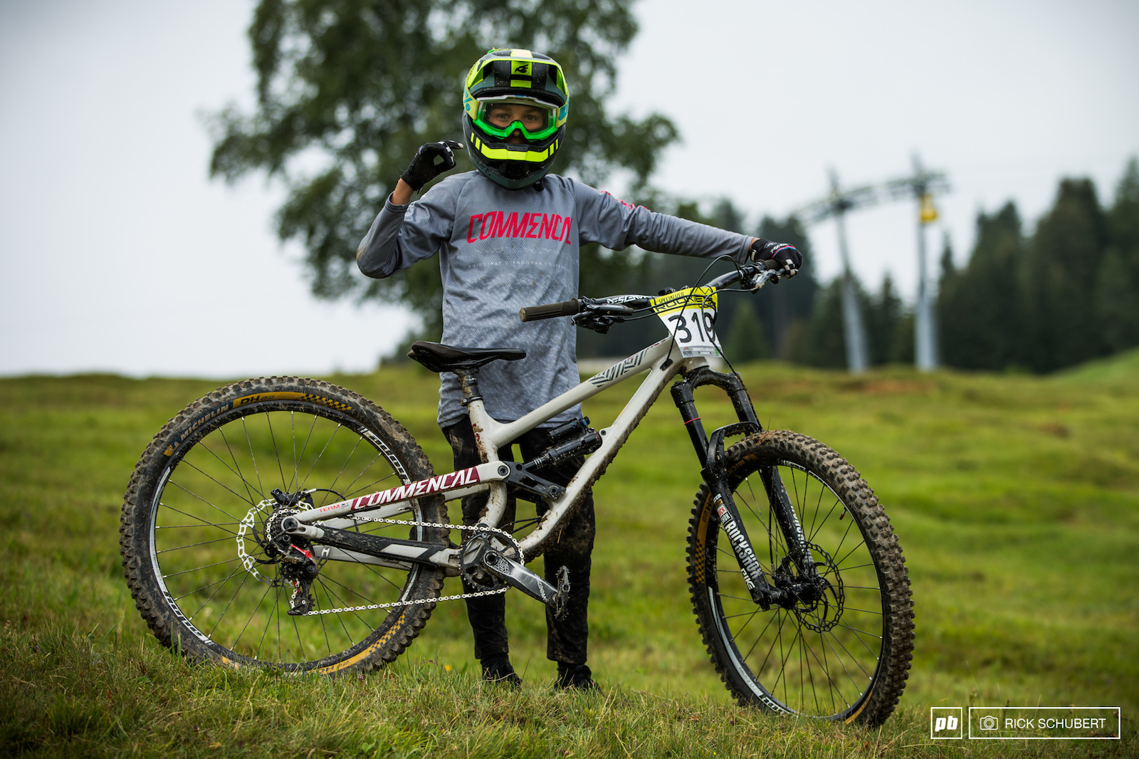 Till Alran is a huge talent from France racing the U13