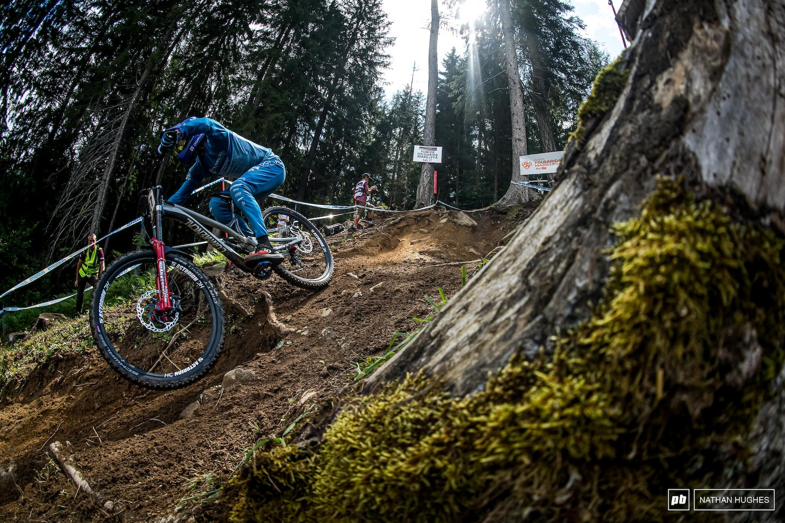 Amaury was not the only Pierron killing it out there on the hill today - Baptiste snuck into the top 10 too.
