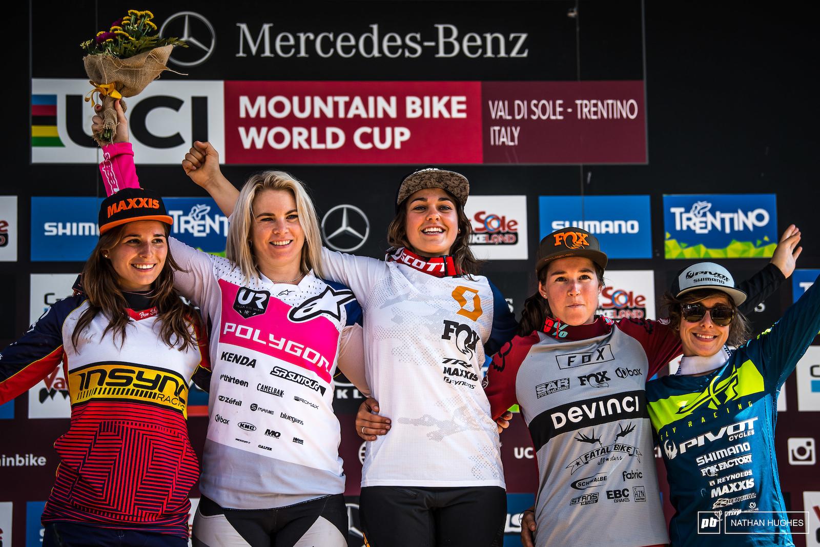 Fastest women in the west... Cabirou Hannah Ballanche Widmann and Siegenthaler.